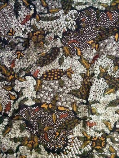 Batik Gurik,  Batik from Pamekasan, Madura, Indonesia