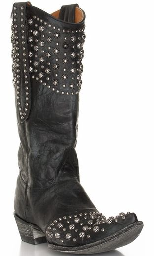 Old gringo cowboy boots