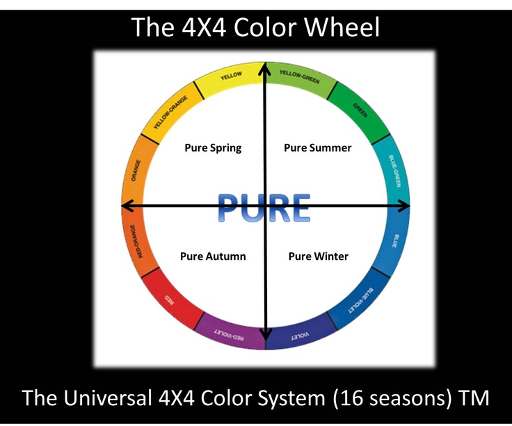 1000 images about seasons on pinterest hair color guide How does the colour wheel work