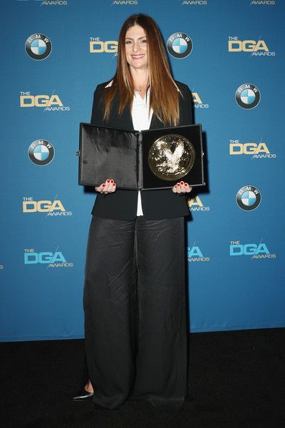 Director Niki Caro, winner of the award for Outstanding Directorial Achievement in Children's Programs for the 'Anne with an E' episode 'Your Will Shall Decide Your Destiny', poses in the press room during the 70th Annual Directors Guild Of America Awards at The Beverly Hilton Hotel on February 3, 2018 in Beverly Hills, California.