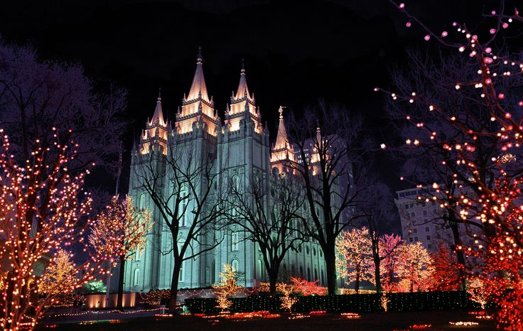 Temple Square. SLC, Utah