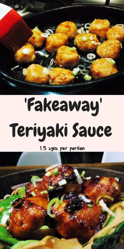 Fakeaway Slimming World Teriyaki Sauce Recipe - Low Syn - Easy - Healthy Takeaway - Recipes