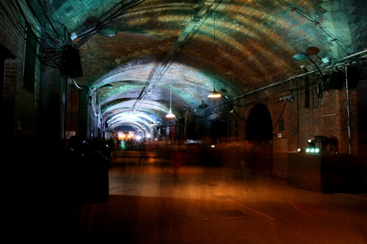 The Dark Arches in Leeds transformed by #OWUW. Credit: http://www.focustoinfinity.co.uk