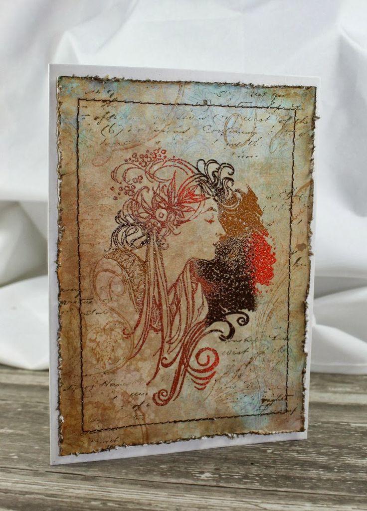 Lena-Art: Vícebarevné horké embossování