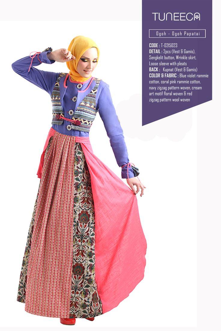 Romantic Malawe View by Tuneeca  #tuneeca #muslimwear #hijab #fashion #casualwear #tuneeca #muslimwear #hijab #fashion