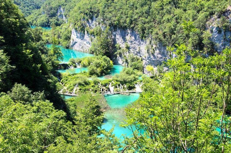 Smukkeste steder i Europa - Plitvice Kroatien