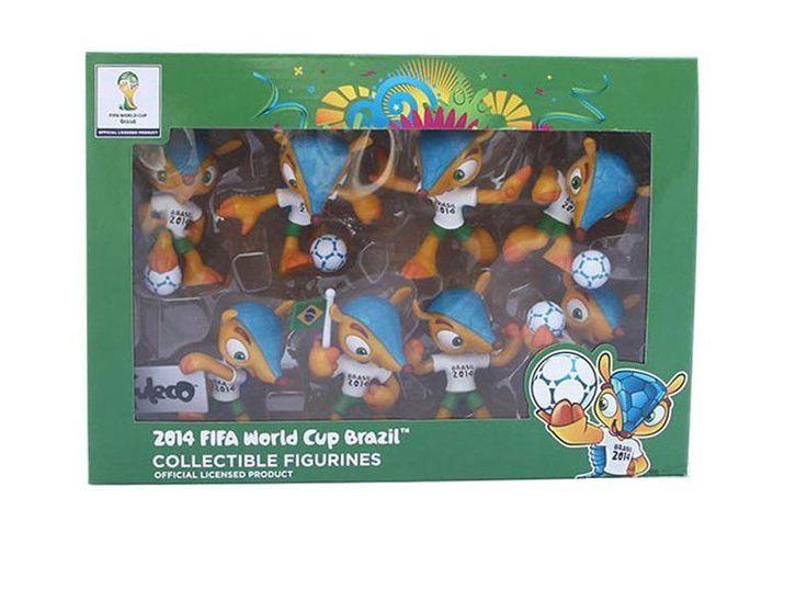 FIFA World Cup 2014 Mascot Fuleco - 8 pezzi per scatola    eBay