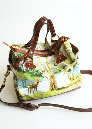 What a country girl purse. Perf for me once I get to Tennessee :)