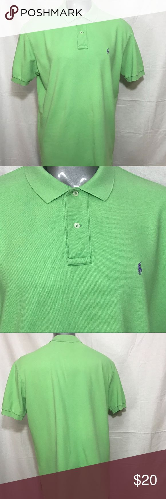 Polo by Ralph Lauren Green Shirt - XL Polo Ralph Lauren  Green  XL Gently pre-owned condition - thoroughly checked - no tears, holes, snags, fading or stains. (Please see photos in listing) OFFERS ACCEPTED :) Please submit your BEST offer to us. We look forward to satisfying you as a customer. Let's do business! Polo by Ralph Lauren Shirts Polos