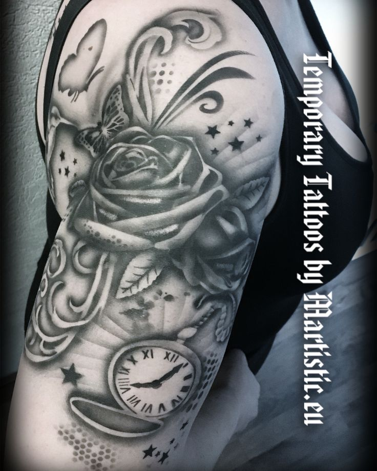 Temporary Tattoo by Martistic.eu airbrush work