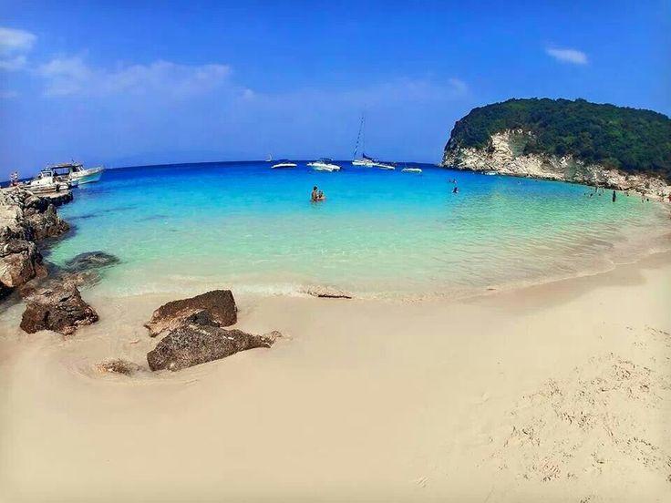 VISIT GREECE| Antipaxos,  Vrika beach #Ionian islands #Greece