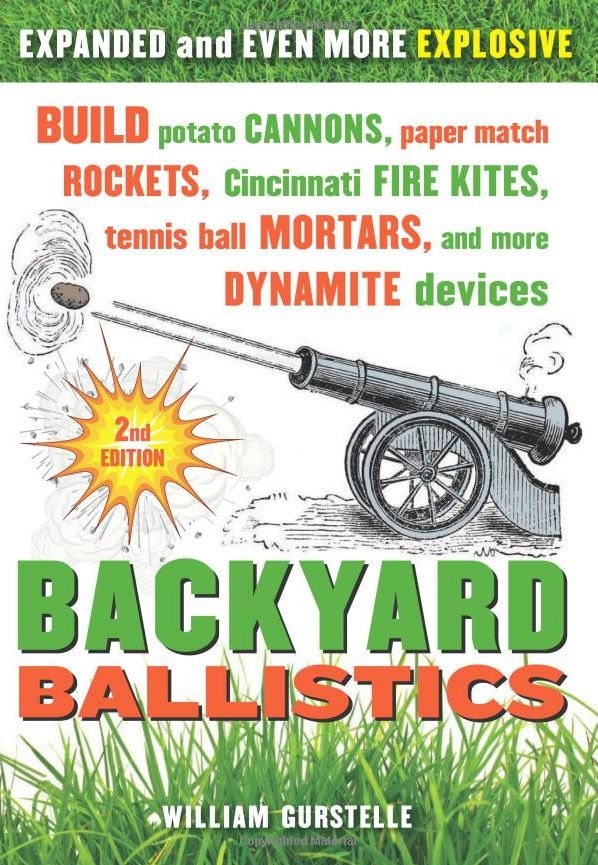 backyard ballisticsPotatoes Cannon, Paper Matching, Ball Mortar, Fire Kite, Buildings Potatoes, Cincinnati Fire, Matching Rocket, Tennis Ball, Backyards Ballistic