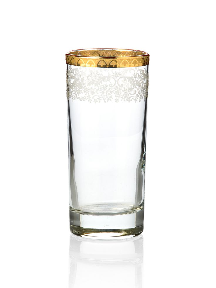 Bridal Gold Rakı Bardağı / Raki Glass #bernardo #tabledesign #glass #gold