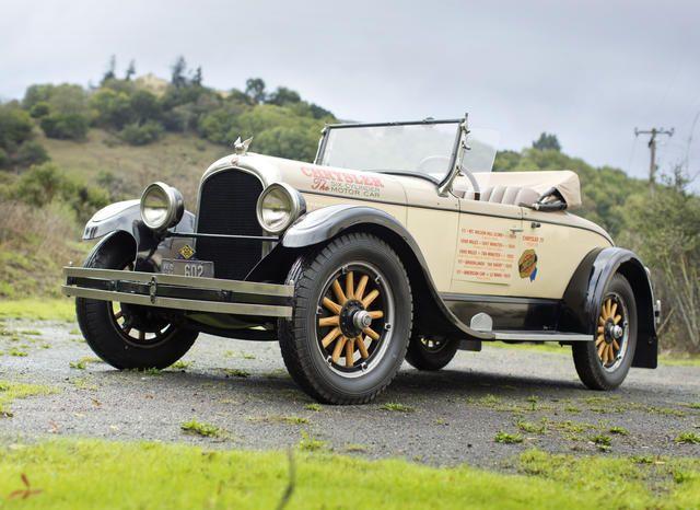 <3 Classic Cars [1924 Chrysler Model B-70 Roadster]