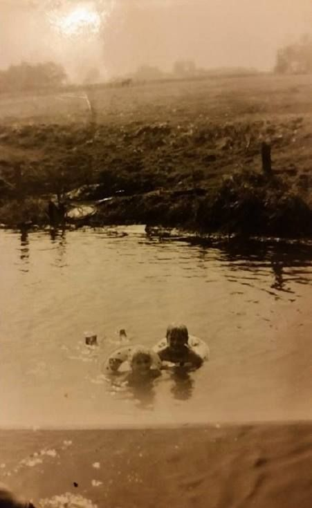 Zwemmen in het Loodiep Foto toegezonden door Willy Luisman Vredeveld
