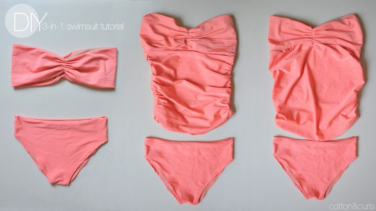 Had to make make a swimsuit this summer! HAD TO. Luckily with this tutorial, I can change it into a non-maternity swimsuit after the baby comes. And how perfect is this…kate made a sweet lit…