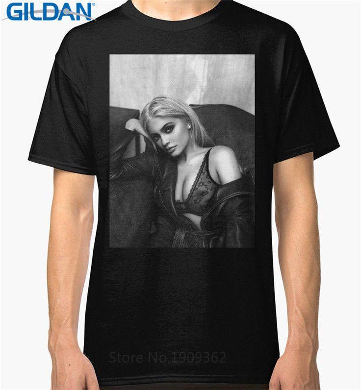 New Kylie Jenner Bad-Ass Full Four Gildan T-Shirt Size S-XXXL #Handmade #BasicTee