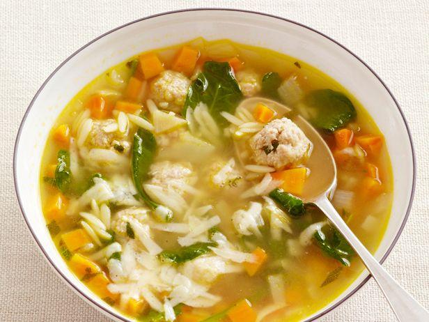 Italian Wedding Soup — light summer soup transitions into fall.