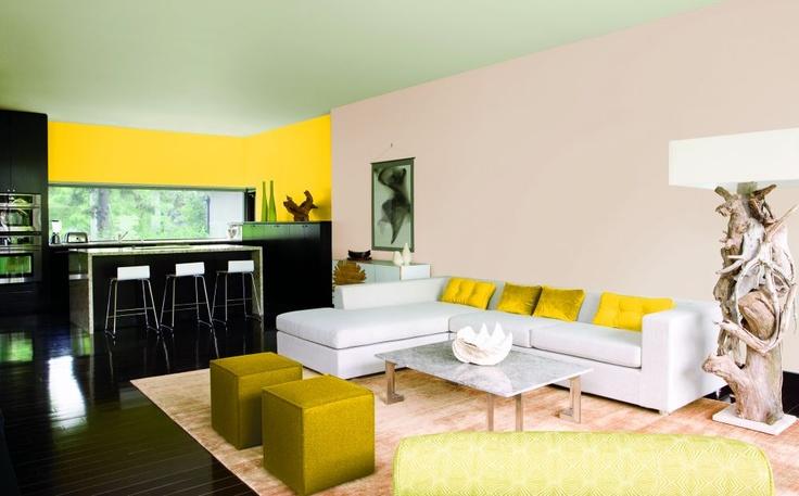 Color flow – to takie połączenie strongkolorów ścian/strong w mieszkaniu, które da harmonijną całość. RADZIMY, jak łączyć różne KOLORY ŚCIAN w mieszkaniu, aby stworzyć ładną kolorystykę w aranżacji wnętrz. Zobaczstrong galerię ZDJĘĆ/strong i pomysłów na ładne połączenia kolorów ścian.