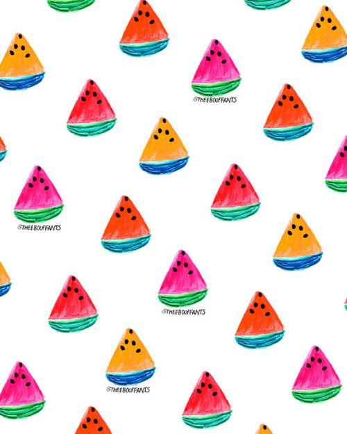 Colorful Watermelon.