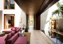 Esta residencia diseñada por Vieyra Arquitectos posee un encanto cautivador.