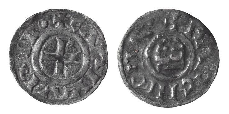 Diner d'imitació carolíngia   Museu Nacional d'Art de Catalunya