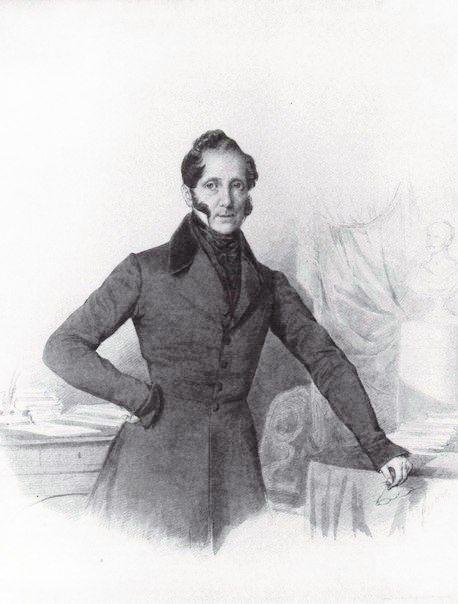 Граф (1846) Сергей Семёнович Уваров (1786 - 1855),