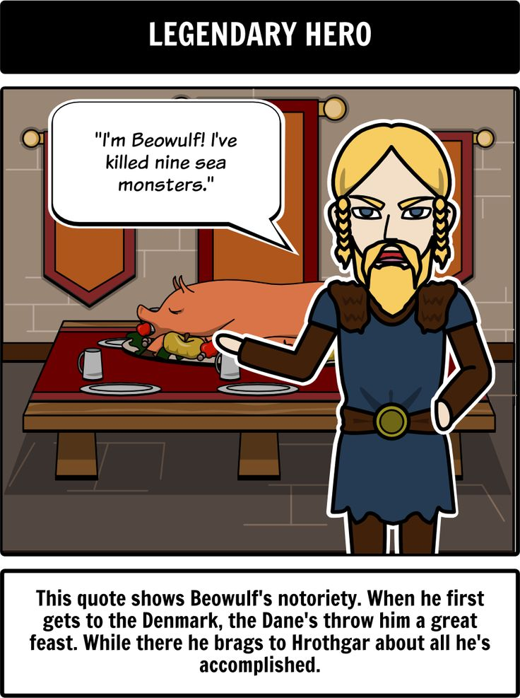 beowulf element of epics Beowulf is an old english epic story consisting of 3,182 alliterative lines it may  be the oldest  19th-century archaeological evidence may confirm elements of  the beowulf story eadgils was buried at uppsala according to snorri sturluson.