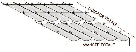 Bache pergola Toile tonnelle bâche terrasse store velum baches PVC sur mesures protection solaire