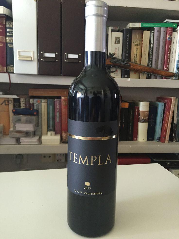 Etiqueta creada para Vinos Templa, de la D.O.P. Valtiendas (Segovia - Spain) #wines #labels #labelwine