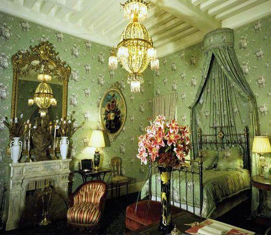 Yves Saint Laurent's Chateau Gabriel.