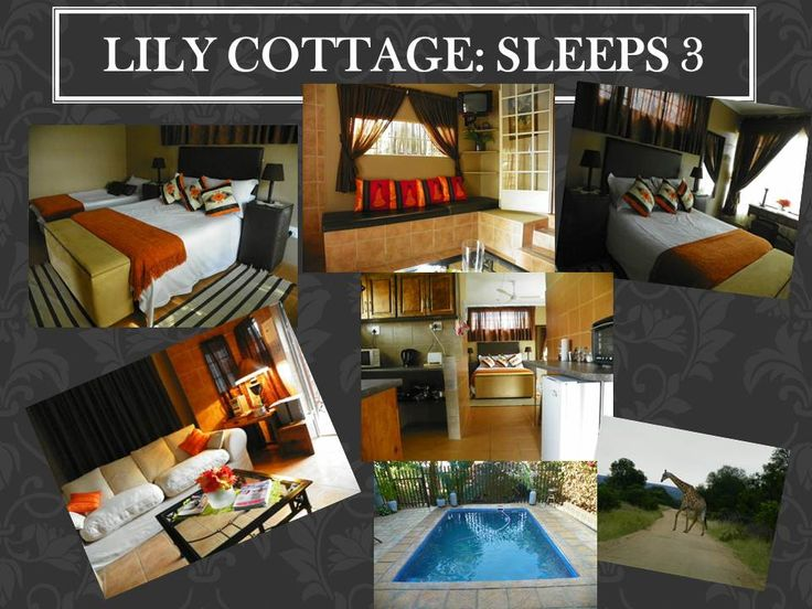 Nandina Guest House and Self Catering Cottages in Hazyview Mpumalanga, Lily Cottages with indoor build in braai to rent www.nandinacottages.co.za