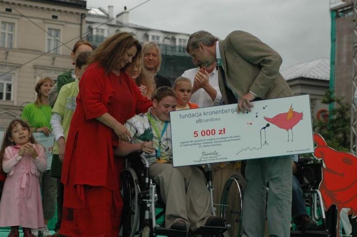 Festiwal Zaczarowanej Piosenki 2007 #zaczarowana scena: emocje i łzy wzruszenia
