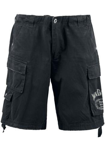 Vonkajší materiál: 100% bavlna Je úplne jedno, čo práve idete robiť! Čierne šortky Jack Daniel's sa hodia tak na voľný čas, do mesta či na párty...jednoducho na všetky príležitosti! Sú extra pohodlné, s praktickými vreckami a neobmedzujú pri pohybe. Originál gombíky Jack Daniel's a potlač loga s 'Old No. 7' na ľavom vrecku im dodávajú ten správny šmrc.