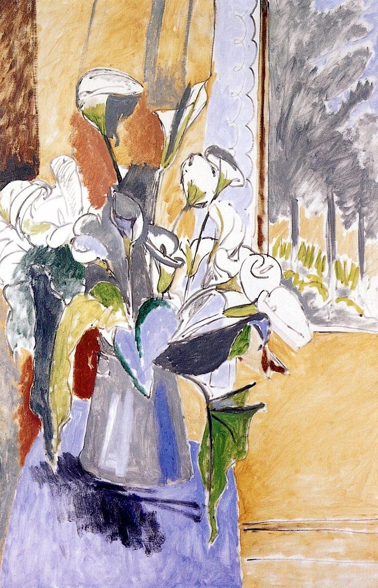 Bouquet (Arum Lilies) / Henri Matisse - 1912