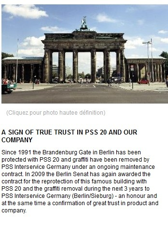 Brandenburg Gate à Berlin