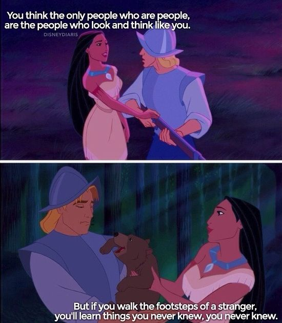 Pocahontas, Paint with all the colors of the wind