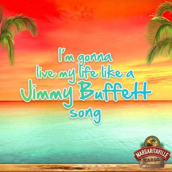 Let's finish the day with a Jimmy Buffett song! Repin if you had a great day after singing it :)
