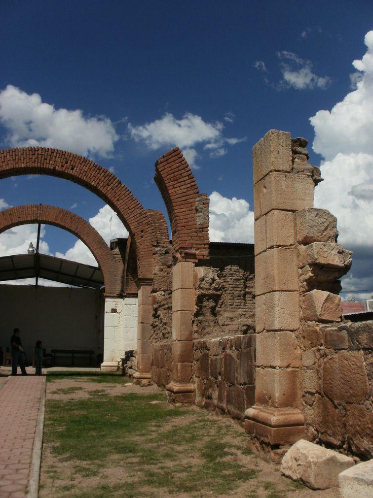 Ruinas en Cucurpe, Sonora.