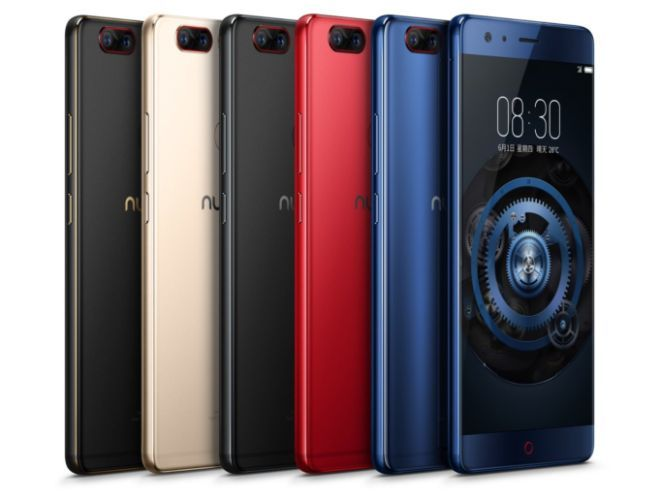 Nubia Z17 smartphone features 8GB RAM Snapdragon 835 Quick Charge 4