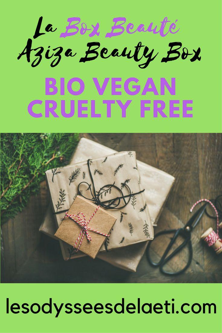 Découvrez la box beauté bio, vegan et cuelty free Aziza Beauty Box : cosmétiques milieu et haut de gammes de marques de niches inédites en France #box #boxbeaute #boxbeautebio #beautebio #beautenaturelle #azizabeautybox #boxvegan #boxbio #soinsbio #soinsnaturels #cosmetiquesbio #cosmetiquesnaturels #cosmetiquebio #cosmetiquenaturel #produitsdebeaute #cosmetique #beaute #greenbeauty