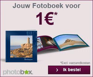 Photobox.nl heeft 3 nieuwe leadacties gestart! Photobox.nl geeft haar klanten een gratis fotoboek, fotocanvas of 100 fotoafdrukken bij registratie op de website.  • Gratis fotoboek: geldig tot en met 18 augustus 2013; • Gratis fotocanvas: geldig tot en met 16 augustus 2013; • Gratis fotoafdrukken: geldig tot en met 18 augustus 2013.