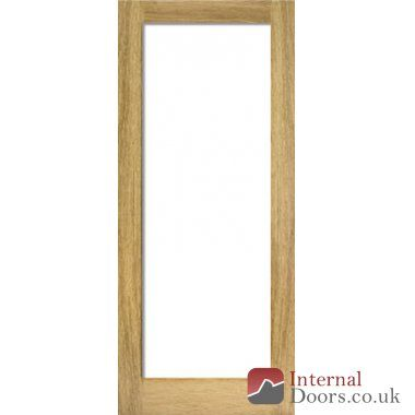 Pattern 10 French Glazed Oak Door: simple and classic French design featuring a single frame with one glass panel. Ideal for brightening up your home.