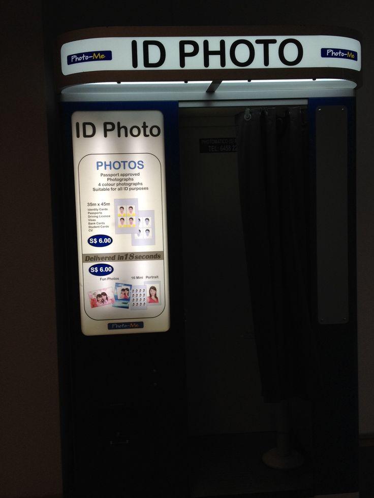 ID photo booth