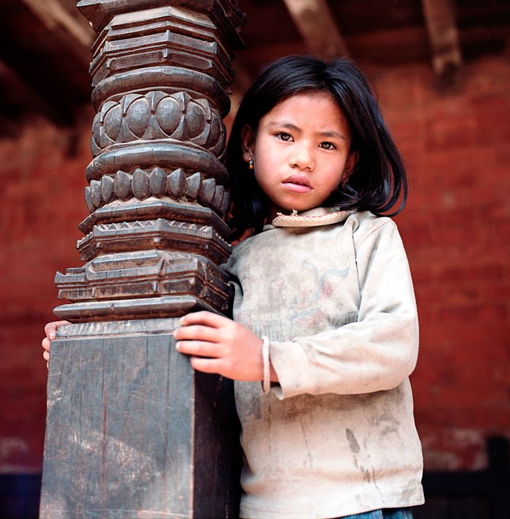 """""""A child poses for a portrait on the streets of Bhaktapur, Nepal."""" Smithsonian.com Photo of the Day: August 13, 2012. Taken by Antonina Reshef."""