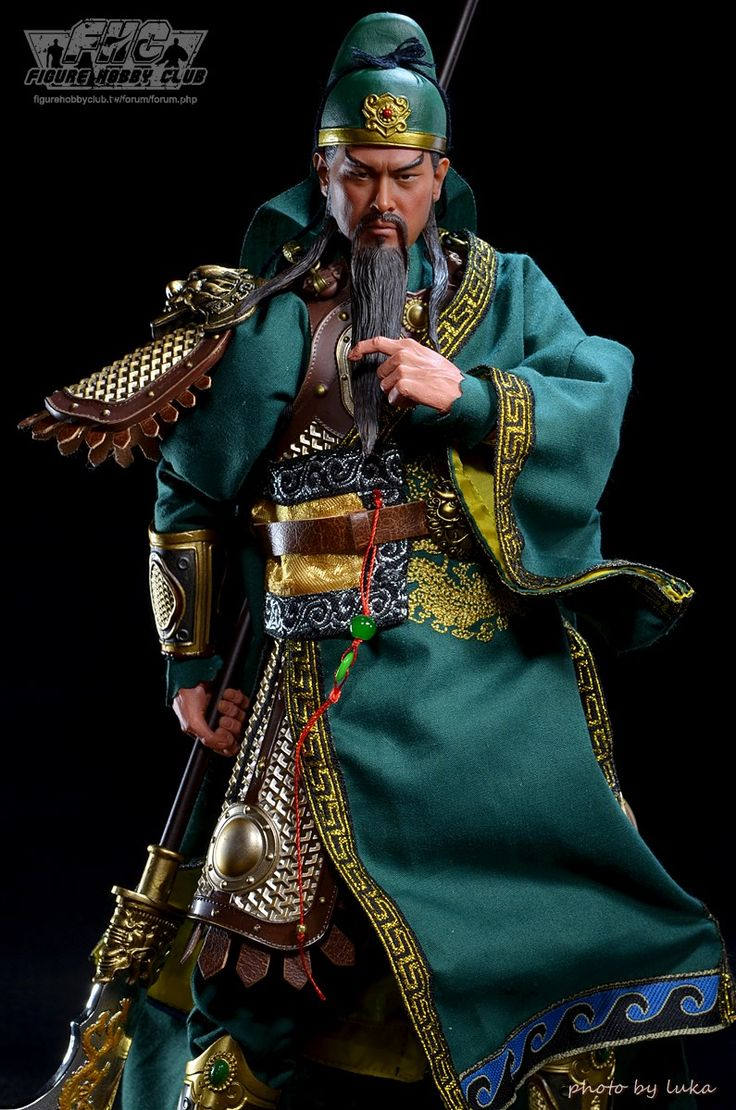 1/6 scale 303 Toys Guan Yu from Romance of the Three Kingdoms. Follow us on Twitter @gamerskc