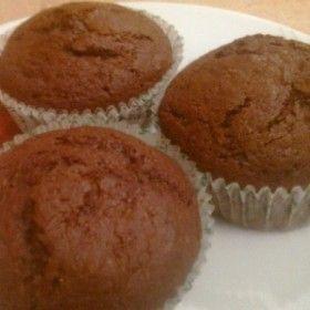 Narancslekváros-kakaós muffin
