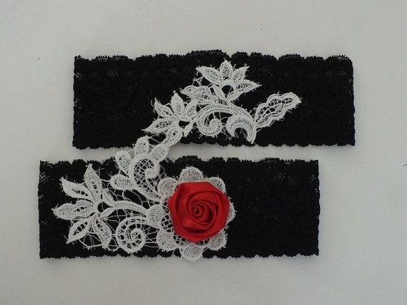gothic black  garter, lace garter noel, wedding, party, suspenders,christmas gifts, FREE SHIP