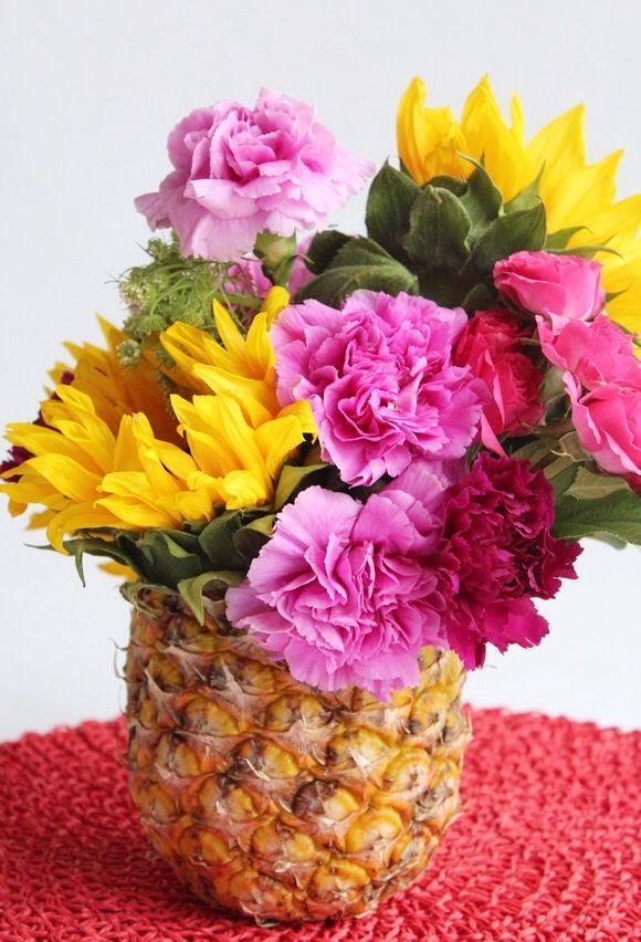Flower Centerpiece Recipe : Best bpl bbq picnic luau images on pinterest