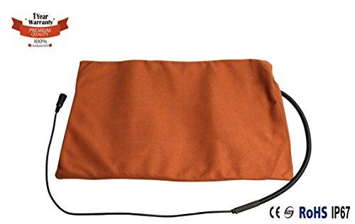 Namsan Warmer Pet Heat Mat  Safety Indoor Cat Dog Pet Bed Waterproof Electric Heating Blanket with UL Cert Adaptor 119 158 inches >>> You can find more details by visiting the image link.